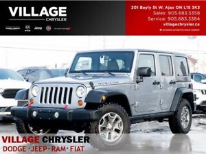 2013 Jeep WRANGLER UNLIMITED Rubicon|Leather|4.10|Nav|Dual Tops|