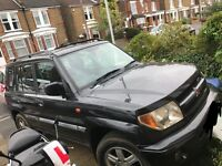 Mitsubishi shogun pinin swap for a van or right cash price