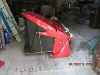 westwood ride-on mower complete collector system