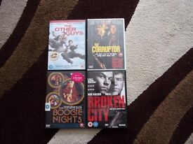 DVD's - 8 MARK WAHLBERG DVD'S - EXCELLENT CONDITION. SEE DETAILED LIST