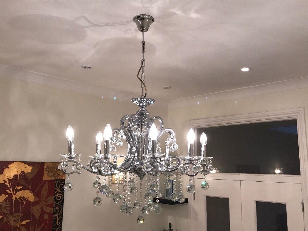 Brand new crystal chandelier lights   in Newham, London   Gumtree