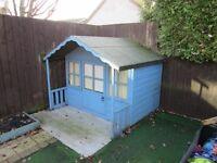 Childrens B&Q Wooden Playhouse