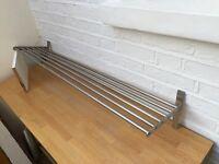 Ikea Grundtal stainless steel wall shelves (5)