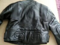 Mens Motorbike Leathers in good condition