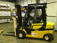 Yale hyster 2.5 ton diesel forklift container mast 2016