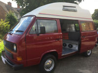 WESTPHALIA CAMPER . VOLKSWAGEN. 2.1 i . TOP OF THE RANGE.