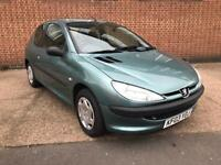 Peugeot 206 Style 1.1 *** 12 Months MOT, 2 Owners, Low Mileage ***