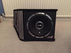"""Vibe black air 12"""" sub 1600W with built in amp"""