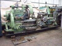 HERBERT MODEL 9C 30 TURRET LATHE WITH DRO