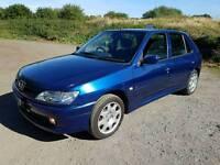 Peugeot 306 LX Auto, A/C, Full Year MOT, 62k, DAB Audio.