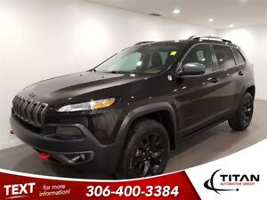 2014 Jeep Cherokee Trailhawk|Auto|4x4|Leather|Cam|Nav