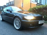 BMW e46 318ci Coupe *Black* 12 months MOT * bargain*