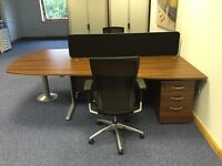 Quality desks / pedestals & chairs set - sale due to downsizing - location Adel