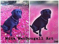 Digital Pet Portraits £20 -Great Gift idea!