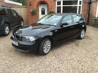 BMW 1 SERIES 2.0 118i ES 5DR BLACK