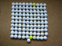 101 Good Quality and Top Names Used Golf Balls