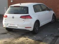 Volkswagen Golf SE NAVIGATION TDI BLUEMOTION TECHNOLOGY DSG (white) 2017-06-24