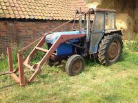 Leyland 255 loader tractor