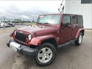 2009 Jeep WRANGLER UNLIMITED Sahara-PST PAID -AUTO