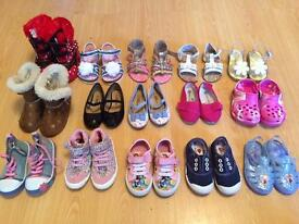 Large collection Girls size 5 toddler shoes