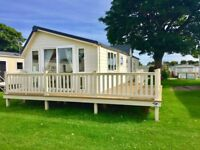 large luxury static caravan holiday home for sale at sunnydale hol park on east lincolnshire coast.