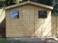 £510.00 NEW 8ftX6ft QUALITY APEX SHED