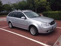 56 Chevrolet Lacetti 1-6SX Est,Only 63000 miles,Drives & Looks like new £695 P/X -Deb/Cred Cards