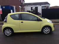 CITERON C1 £20 A YEAR TAX LOW INSURANCE VERY YELLOW