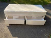 Airsprung Single Divan Bed with 2 Storage Drawers