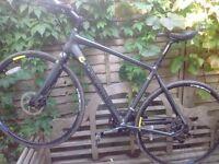 Lazy Sale.. Fantastic Boardman Hybrid Bike - Size L - Carbon Forks - SRAM APEX