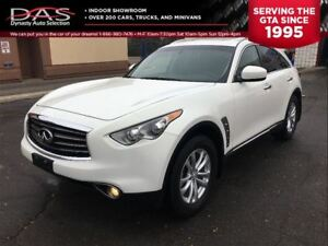 2013 Infiniti FX37 PREMIUM LEATHER/SUNROOF/CAMERA
