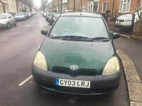 Toyota Yaris 1.0, 2003 good condition lady owner
