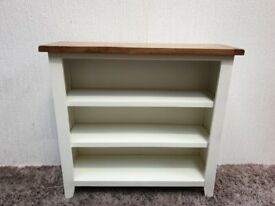 Oak White Bookshelf Bookcase Living Room Furniture