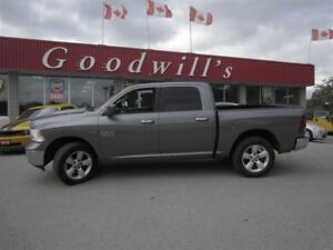2013 Dodge Ram 1500 SLT! CREW 4X4! CLEAN CARPROOF!