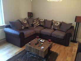 Corner Sofa & 3 Seater Sofa