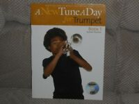 TUTOR BOOK. A New Tune A Day for trumpet/cornet. CD edition.
