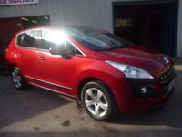 Peugeot 3008 Sport HDI,5 door hatchback,FSH,great looking car,runs and drives very well,great mpg