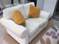 Two seater settee.