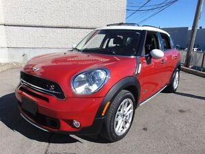 2016 MINI Cooper Countryman S ALL4, CUIR, TOIT, BLUETOOTH, 1 PRO