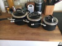 Circulon Elite Professional 4 piece Saucepan set