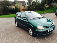 2003 03 Nissan Almera 1.8 Tino se only £280
