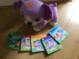Interactive leapfrog puppy with 5 books