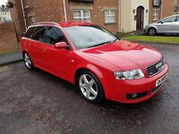 04 Audi A4 Avant Sport RED - Full Leather - MUST SEE