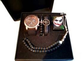 Men Watch Set 5 in 1