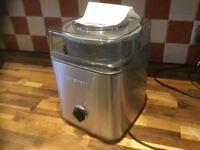 Cuisinart electric icecream maker