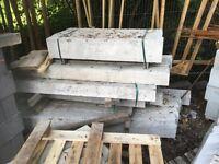 Concrete lintels