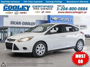 2013 Ford Focus 2.0L/Hatchback/Htd.Seats/Bluetooth