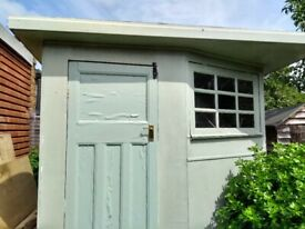 Wooden Insulted - Summer House - Outside Spare Room - Out House - Shed