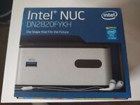 Intel NUC DN2820FYKH with 160GB Intel SSD, 4GB Crucial DDR3L RAM Small Form Factor PC