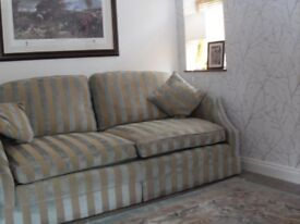 DURESTA/DAVID GUNDY SOFA & ARMCHAIR. MANSION QUALITY SUITE .